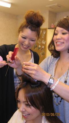 HAIR MAKE KE-KEの写真2