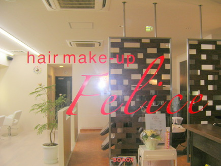 hair make-up Feliceの写真